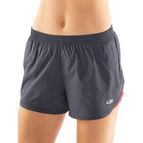 Icebreaker Impulse Hardloop Shorts Dames, panther/ember